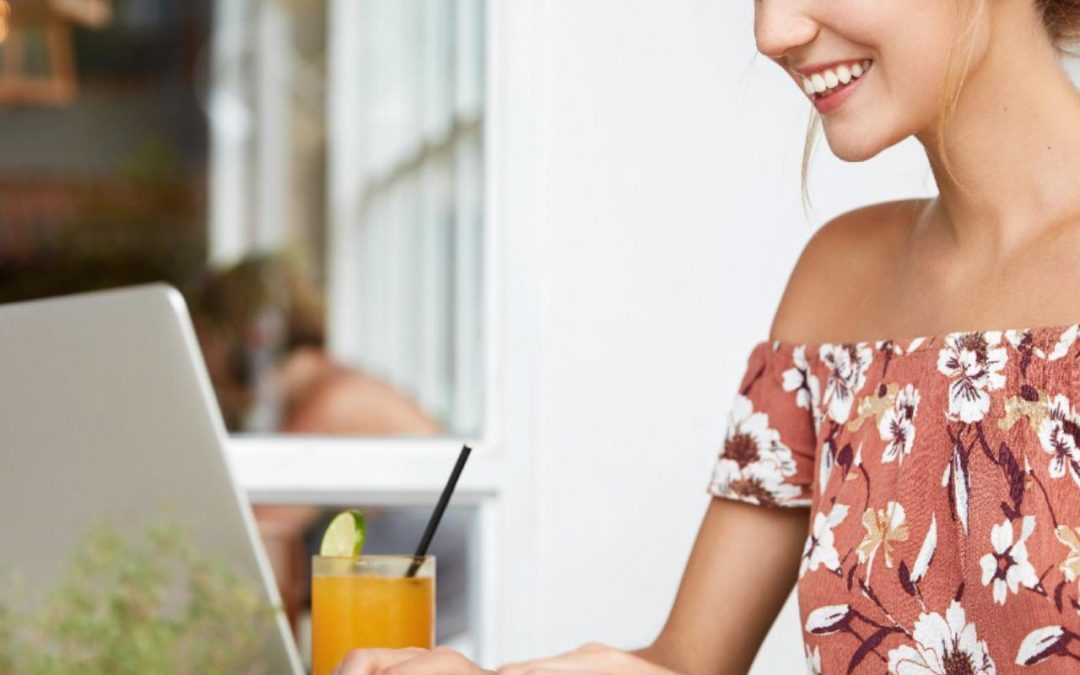 Tendencia de verano: café floral